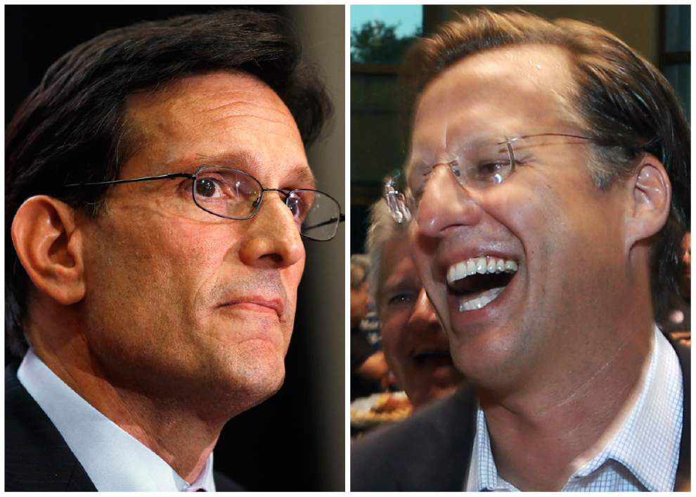 House Majority Leader Cantor defeated in primary _lowres