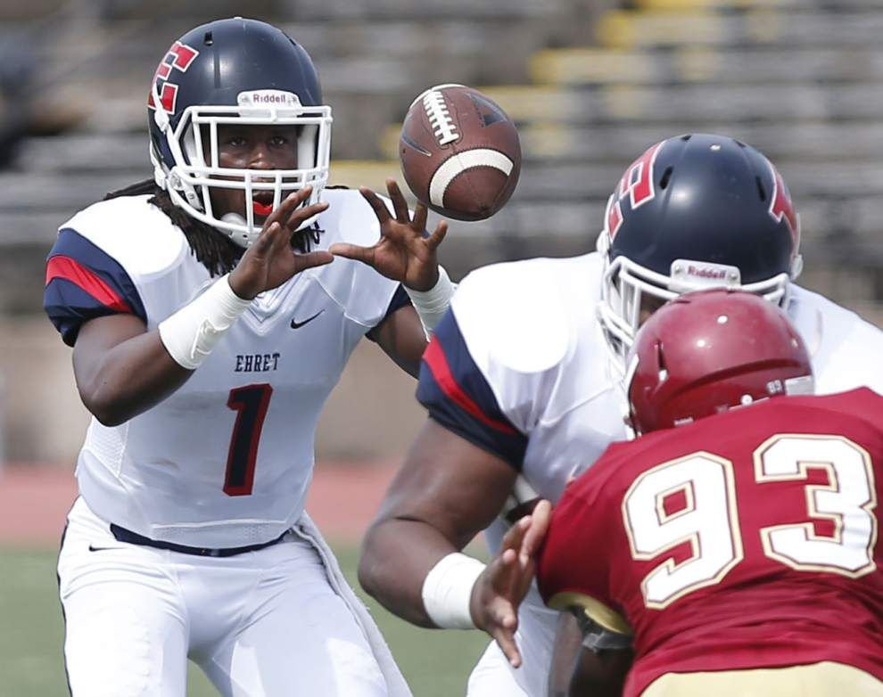 District 8-5A New Orleans-area high school football preview: After going from winless to unbeaten, Ehret faces new challenges _lowres