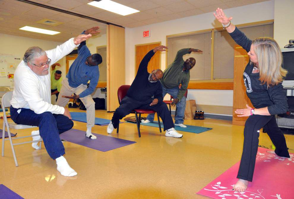 New yoga initiative will benefit female veterans as it has found success with their male counterparts _lowres