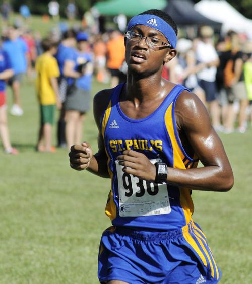 St. Paul's cross country team emphasizing consistency _lowres