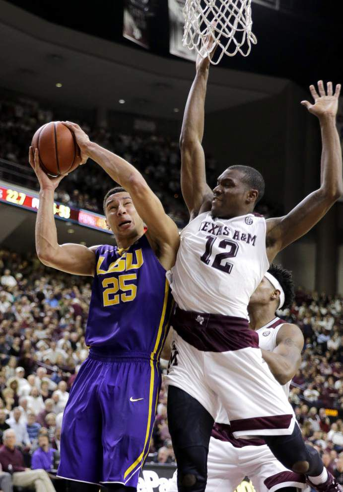 Second-half surge eluded LSU against Texas A&M _lowres