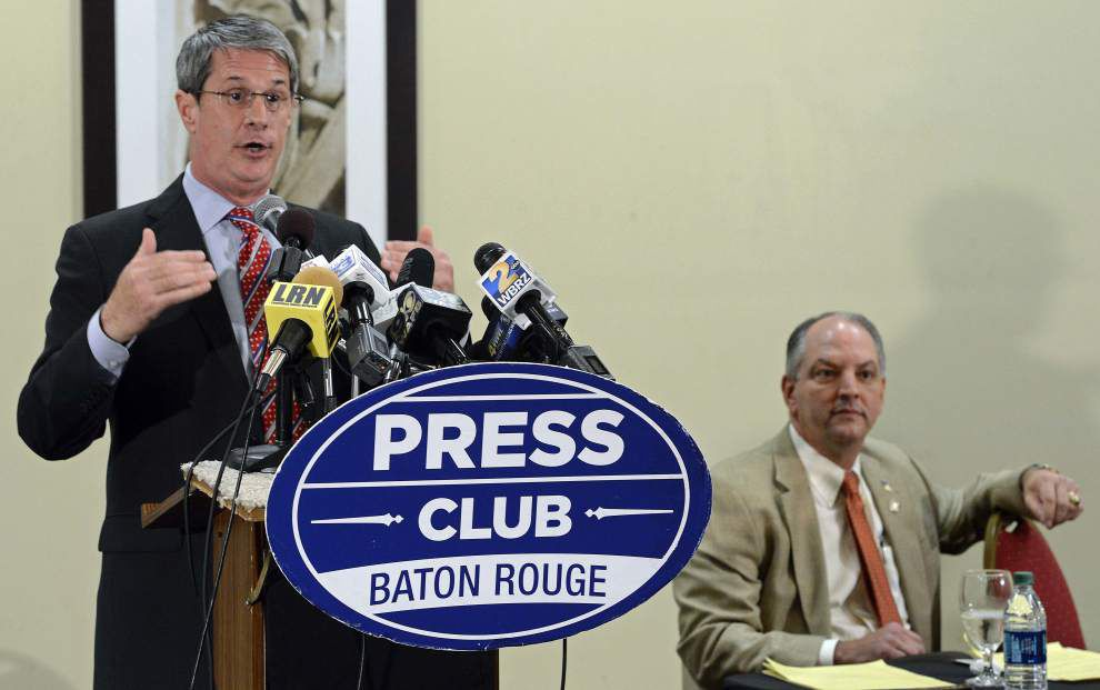 See who contributed to John Bel Edwards, David Vitter in most recent campaign filings _lowres