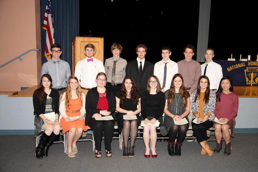 Runnels students join National Honor Society _lowres