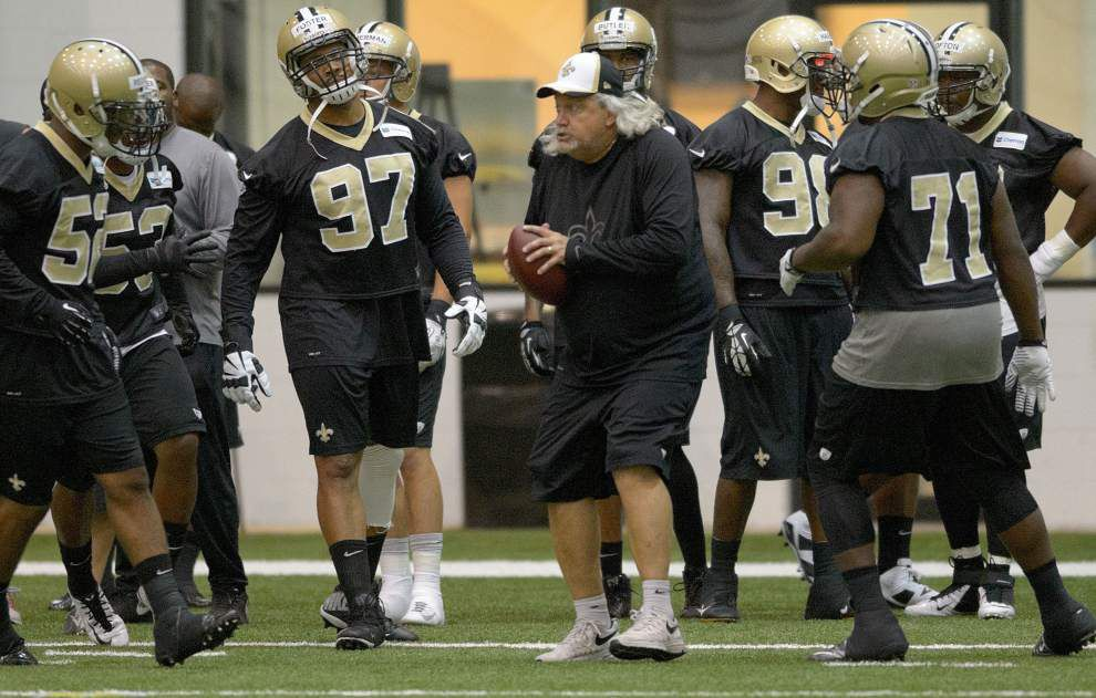 Video: The Saints defensive line works out in first practice _lowres