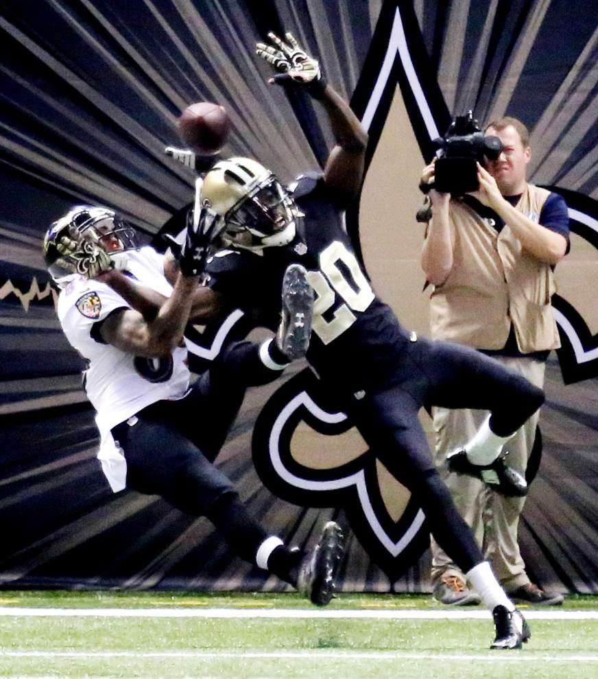 Former Panthers receiver Steve Smith tormenting Saints _lowres