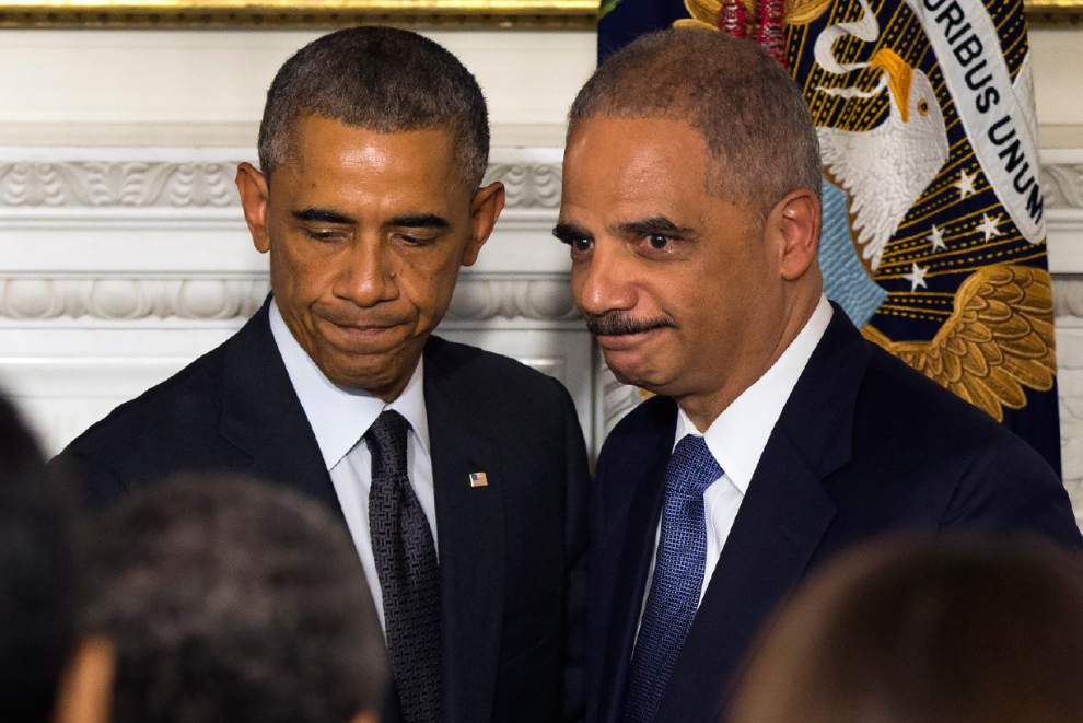 Called a 'people's lawyer' Attorney General Eric Holder to step down _lowres