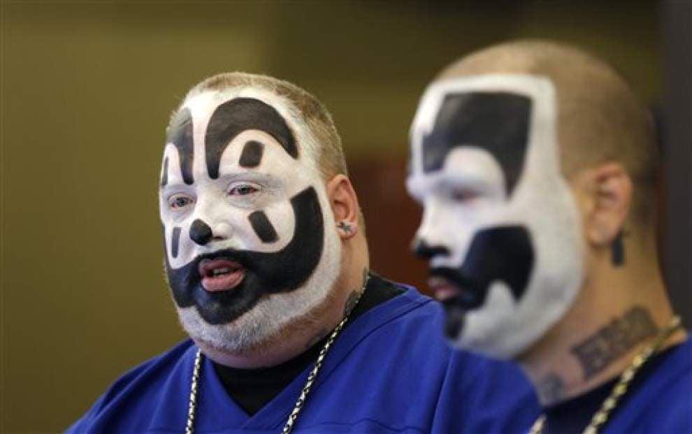 Music duo Insane Clown Posse loses gang lawsuit _lowres