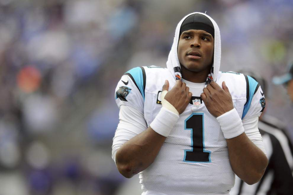 Panthers coach Ron Rivera says quarterback Cam Newton will get new contract 'in due time' _lowres