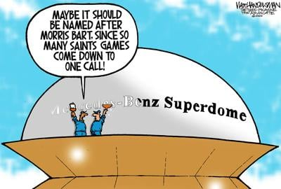 Hey, Who-Dat Nation! Check out these hilarious Dome naming ideas in Walt Handelsman's latest cartoon caption contest!