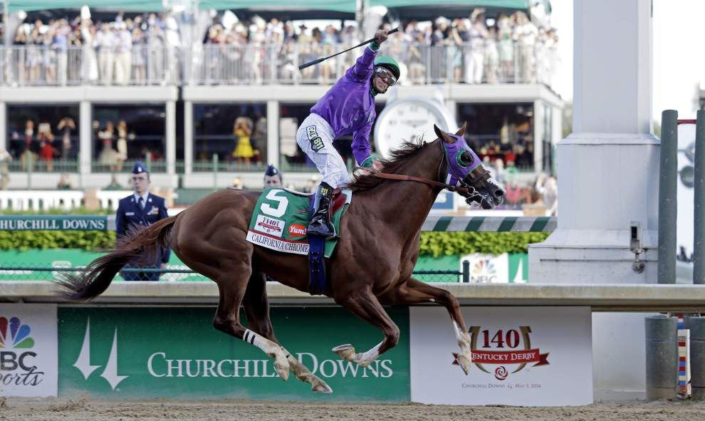 California Chrome wins the Kentucky Derby _lowres