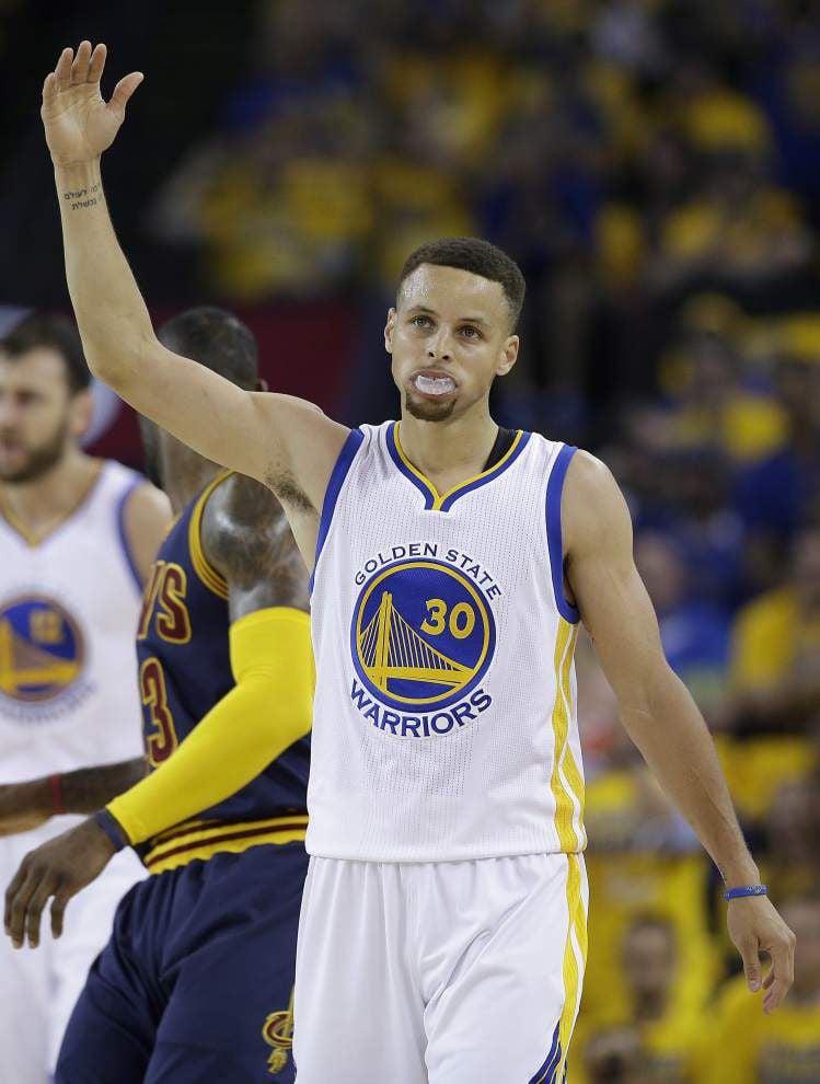 Golden State has golden start to NBA Finals _lowres