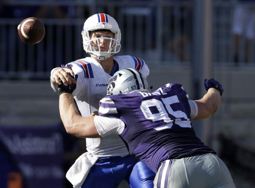 Quarterback Jeff Driskel finds redemption at Louisiana Tech _lowres