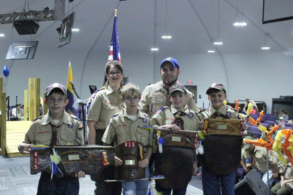 Scout Pack 415 holds Blue and Gold Banquet _lowres