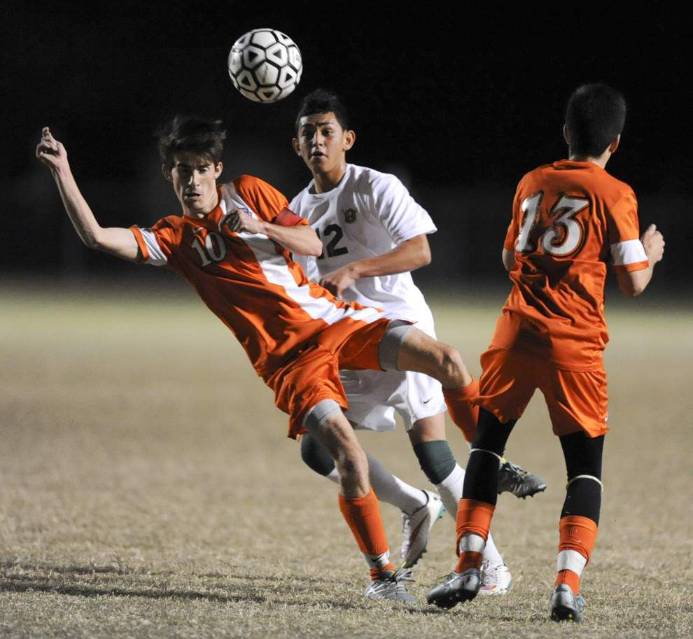 Acadiana boys soccer team finishes deal with strong second half in 4-0 win over Beau Chene _lowres