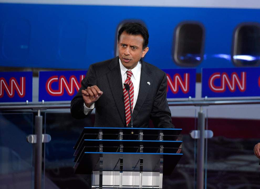 Following second GOP presidential debate - Where does Bobby Jindal's campaign go from here? _lowres