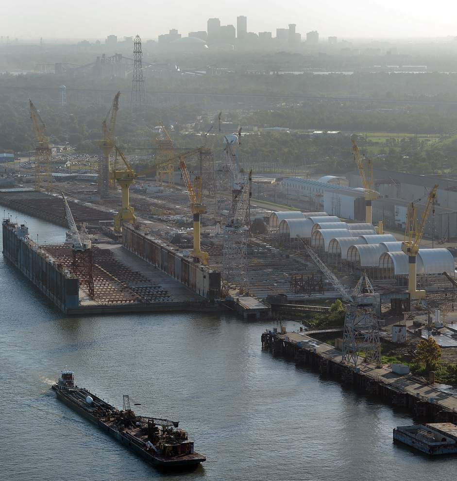 As work winds down at Avondale, shipyard's future remains cloudy _lowres