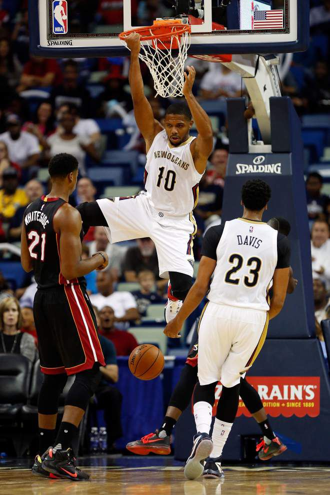 New Orleans Pelicans guard Eric Gordon takes the long view of 0-2 start: 'We're a very talented team. ... We'll be better.' _lowres