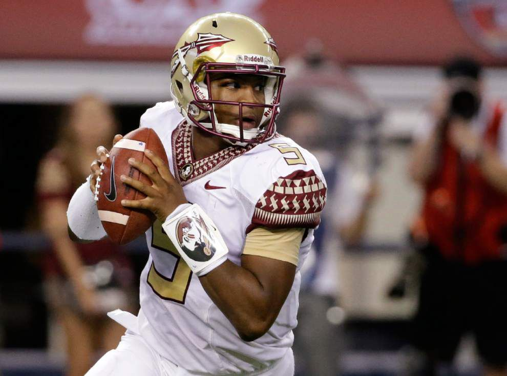 Florida State changes course, suspends Jameis Winston for all of Saturday's game vs. Clemson _lowres