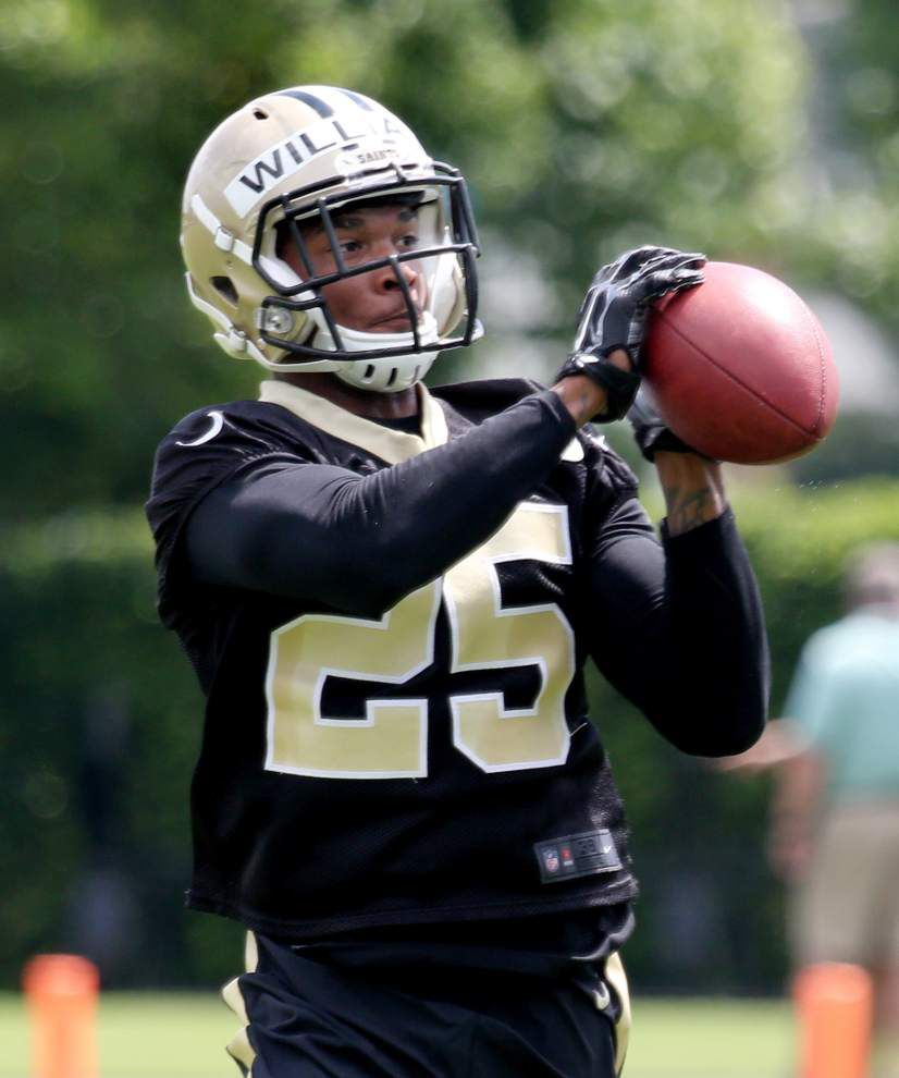 Saints' P.J. Williams eager to show his skills after injury _lowres
