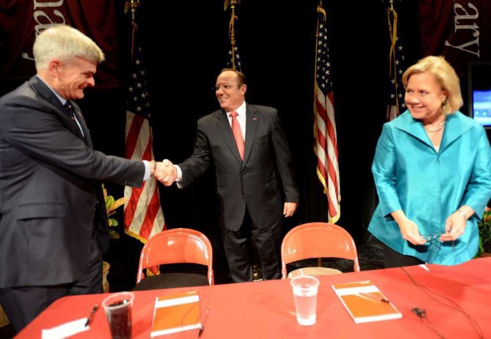 Senate candidates square off in Shreveport _lowres