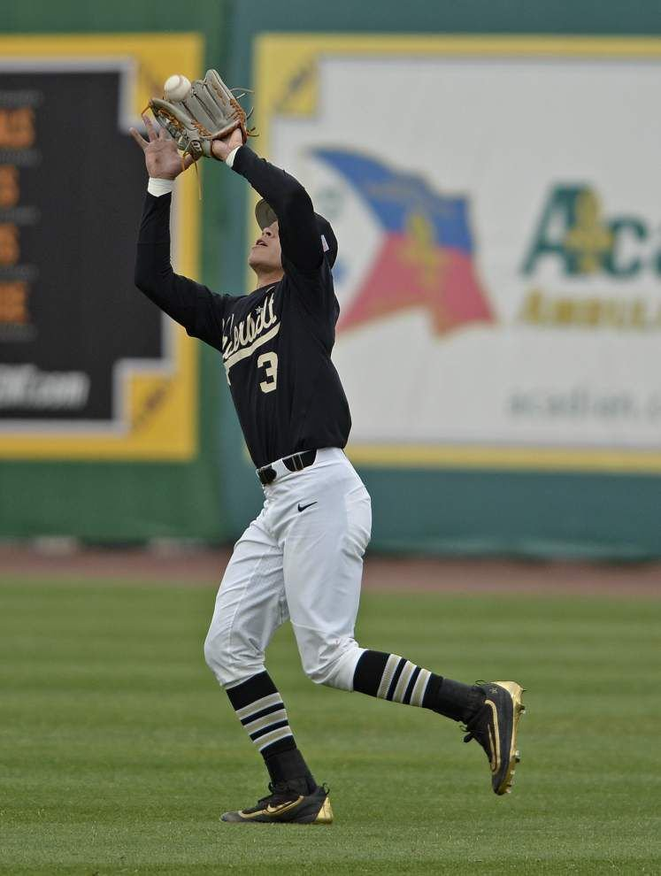 Vanderbilt's two-out, eighth inning uprising sinks LSU, closer Caleb Gilbert in 9-7 loss _lowres