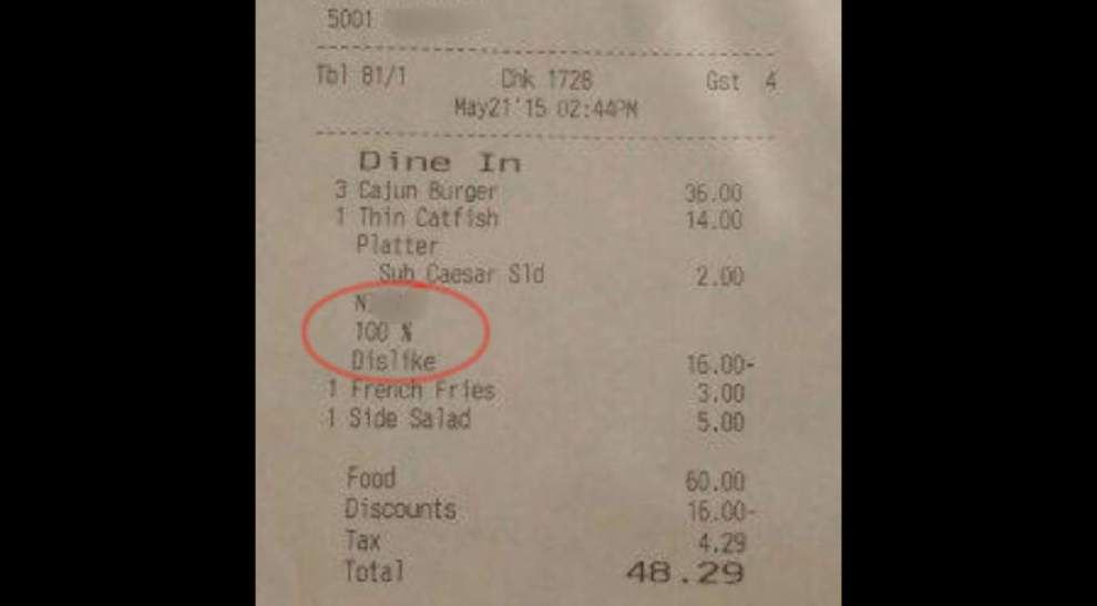 Women who were given receipt with racist epithet seek apology from waiter at French Quarter cafe _lowres