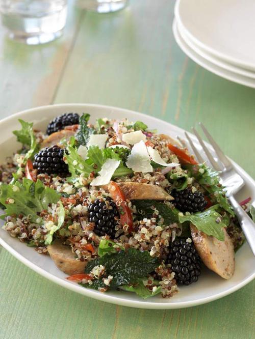 Tuscan Quinoa Blackberry Salad _lowres