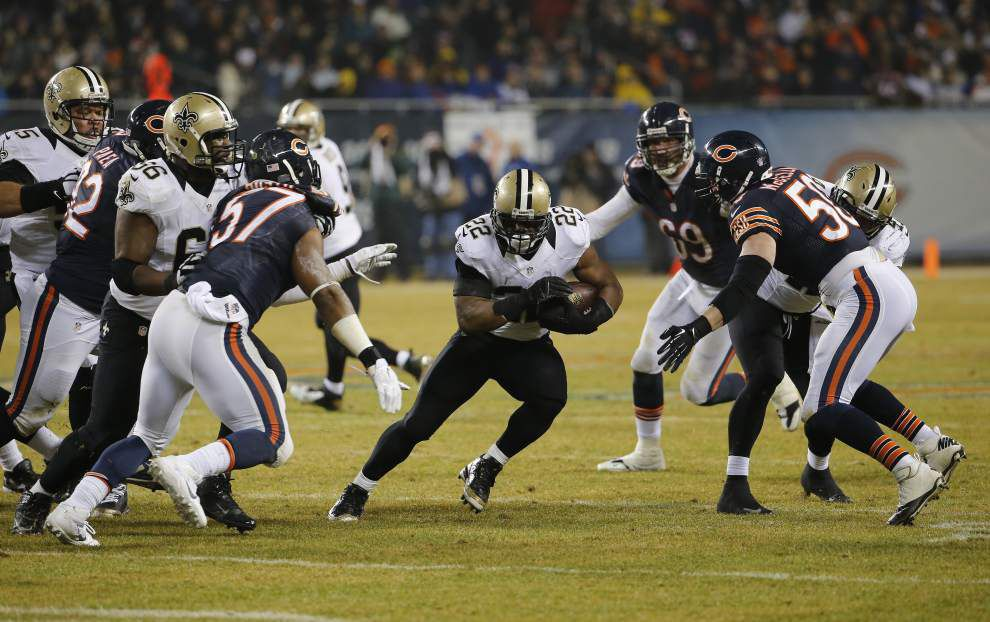 Video: Saints make their changes work in a 31-15 victory against the Chicago Bears _lowres