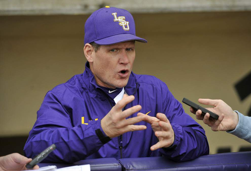 On the record: LSU pitching coach Alan Dunn _lowres