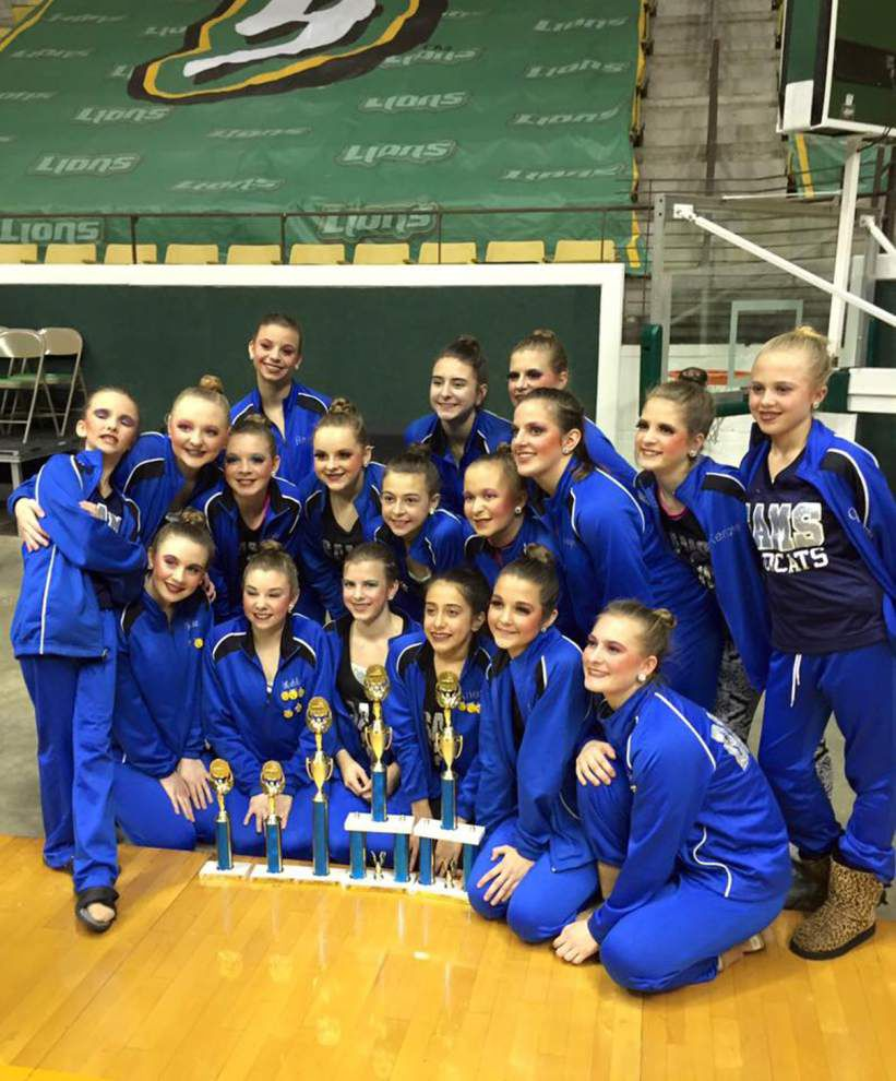 St. Amant Middle places at state dance competitions _lowres