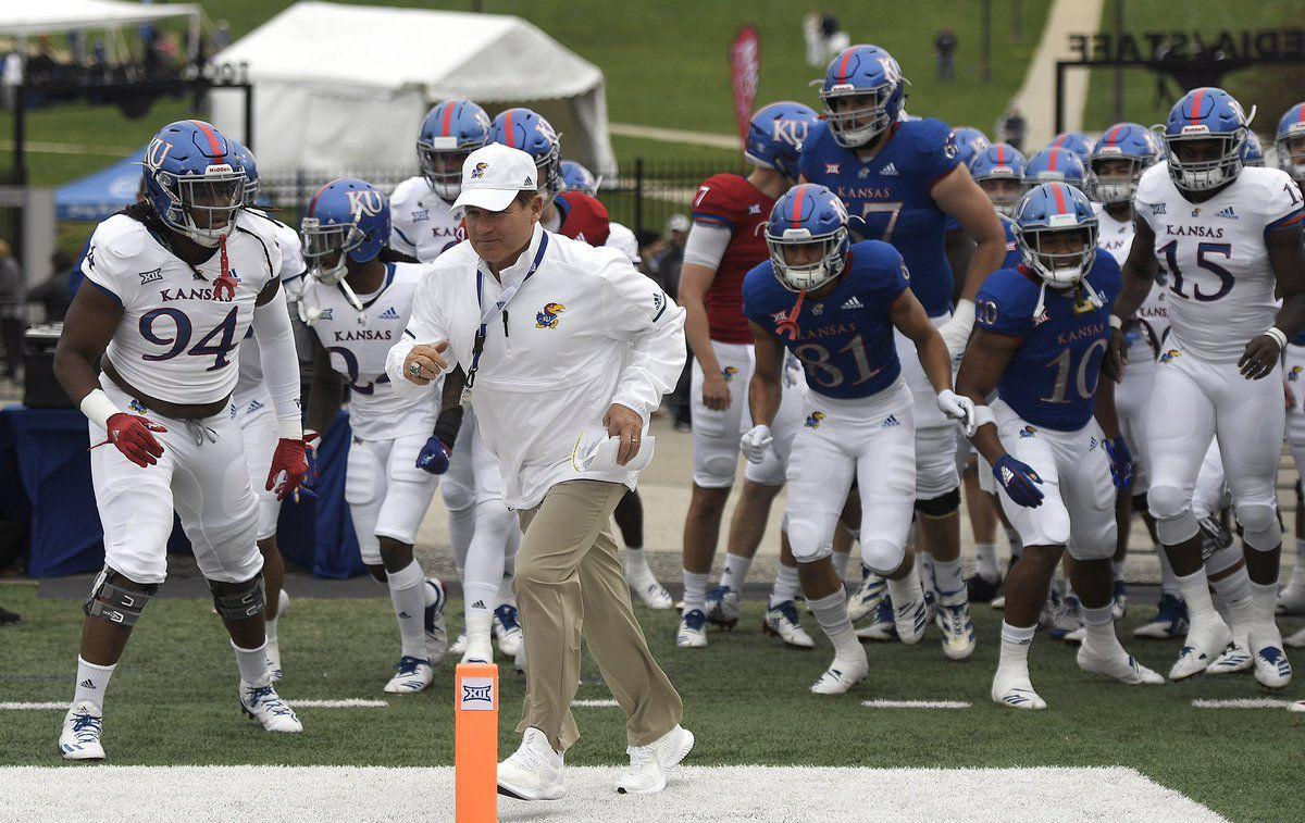 The Les Miles Show brings signs of life, hope to Kansas football program