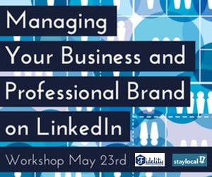 Promo: Managing Your Business and Professional Brand on LinkedIn_lowres