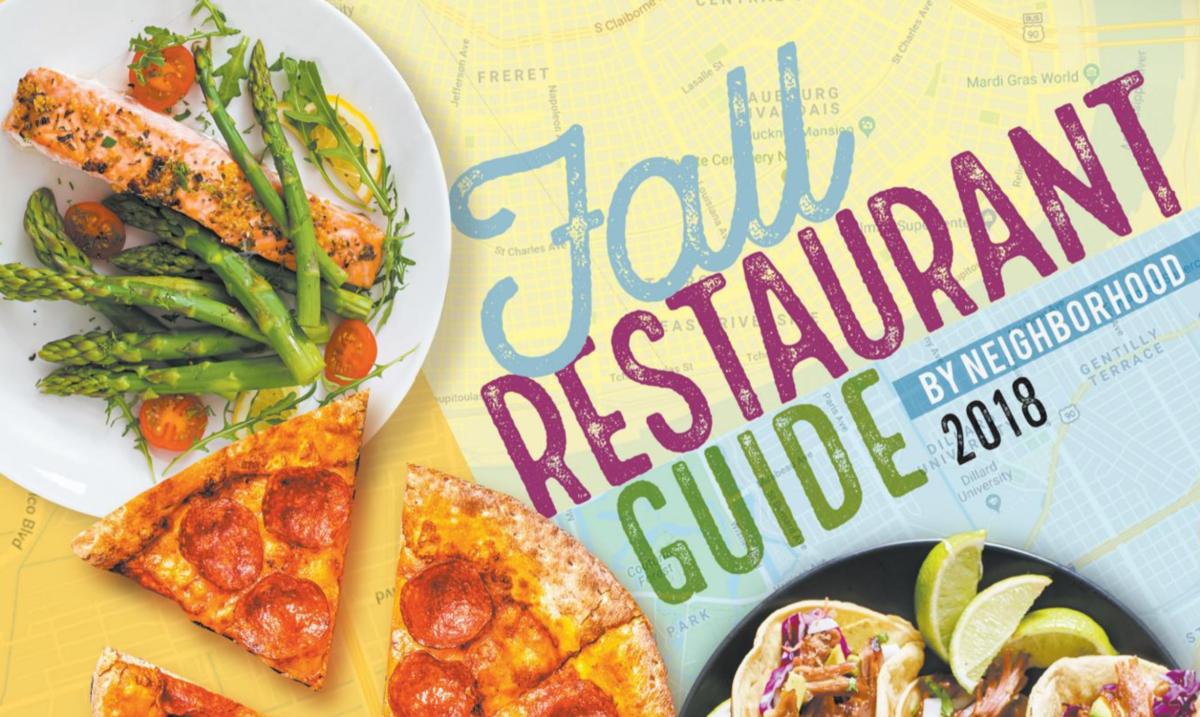 2018 fall restaurant guide