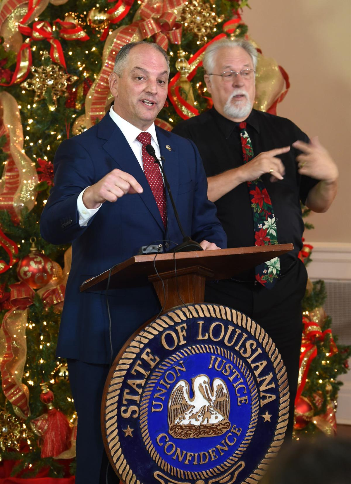 Stephanie Grace: Gov. John Bel Edwards gets an early Christmas gift ...