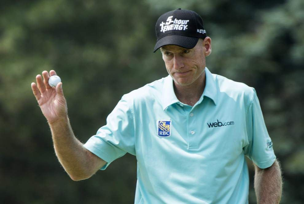 Jim Furyk charges into tie at Canadian Open _lowres