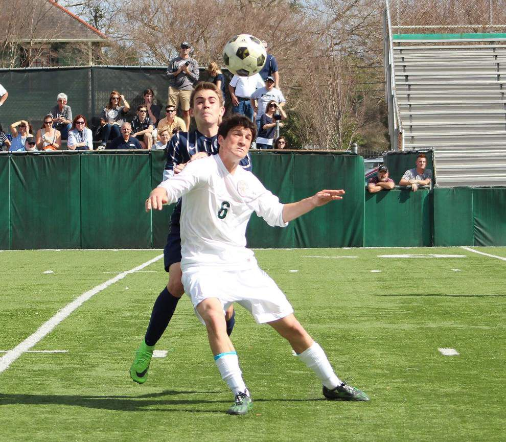 Fast-starting Newman advances to boys soccer final with 3-1 win over Episcopal of Acadiana _lowres