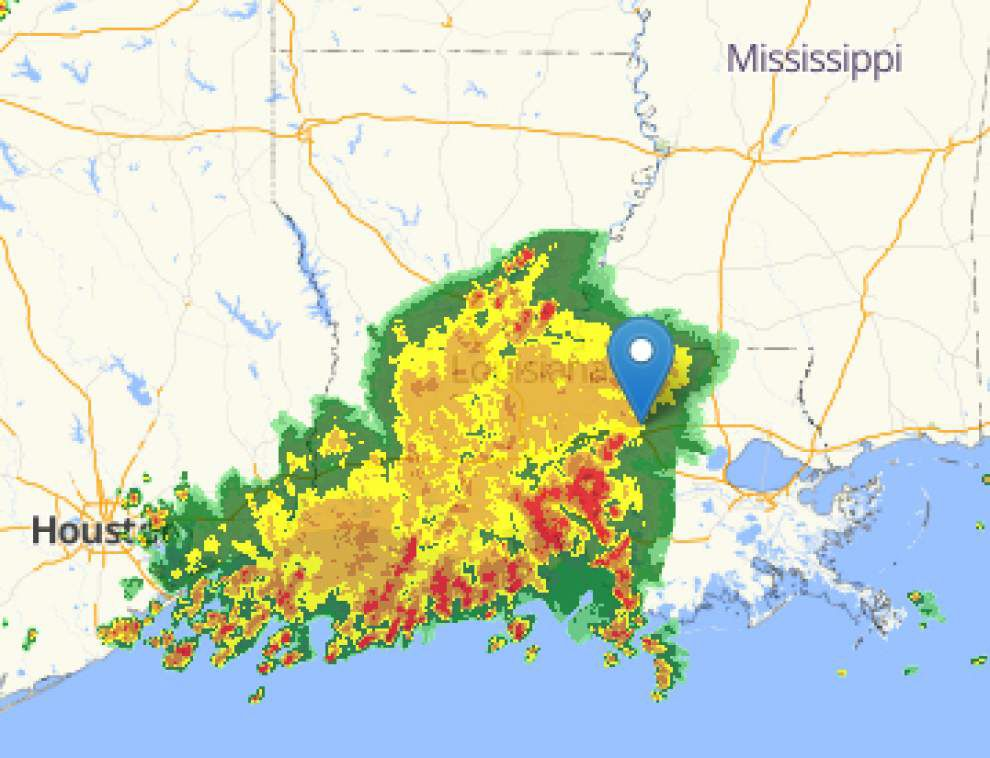 Heavy rain, storms headed to New Orleans today; see the radar map here _lowres