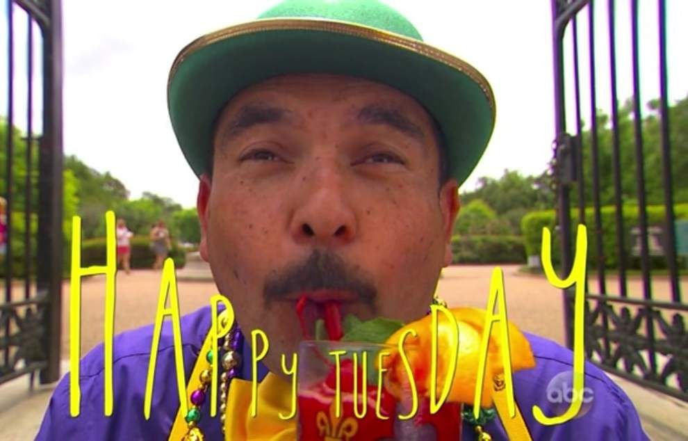 Jimmy Kimmel Live sends sidekick Guillermo to New Orleans to soak in a Big Easy Tuesday _lowres