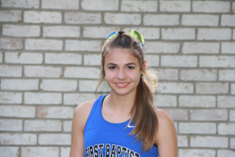 Gabrielle Jennings wraps up eightth straight state cross country title _lowres