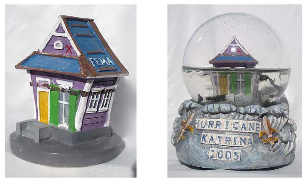 Appropriate or disturbing? Hurricane Katrina snow globe marketed for storm's 10th anniversary _lowres