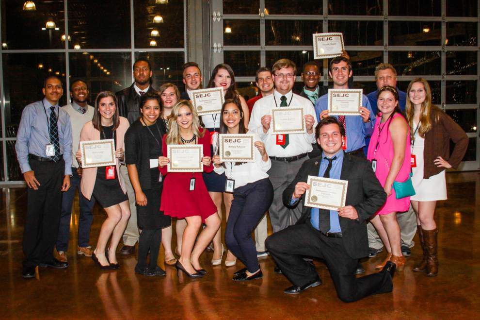 SLU recognized at journalism conference _lowres