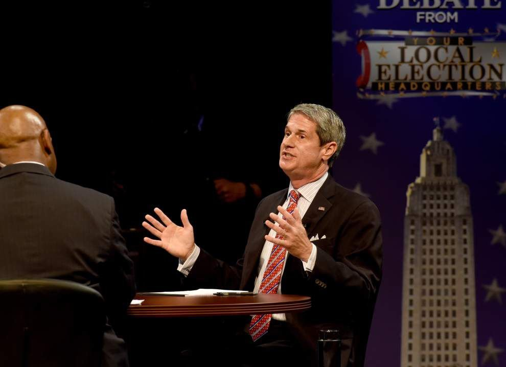 Heckling, name calling, noisy disruptions dominate final debate between David Vitter, John Bel Edwards _lowres