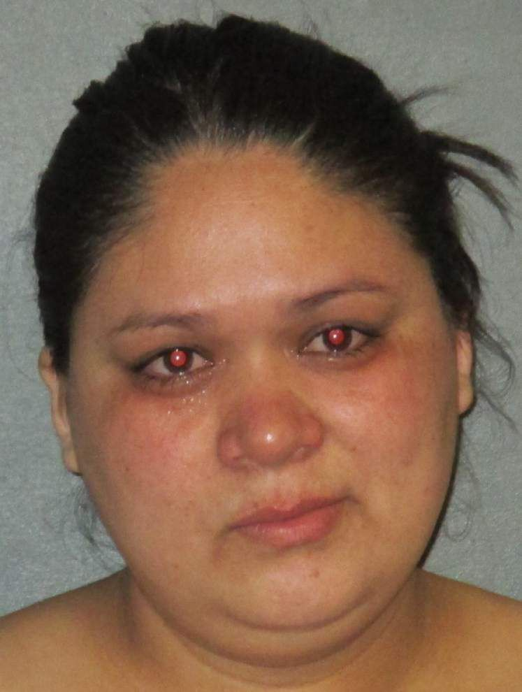 Baton Rouge woman accused of beating live-in boyfriend with metal pipe _lowres