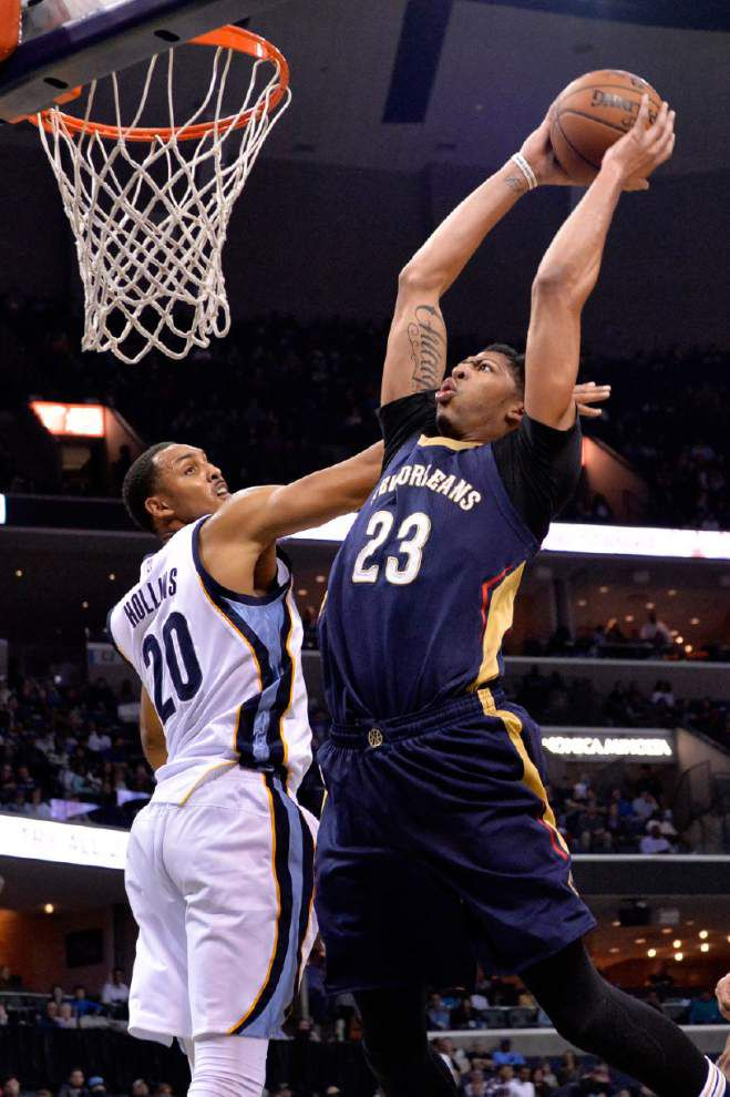 As the Pelicans consider shutting down Anthony Davis for the season, the team's focus is firmly on the future _lowres