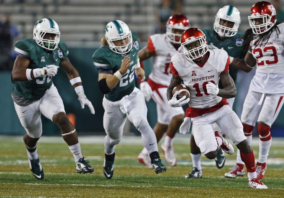 Tulane, thoroughly beaten by Houston on Friday, says it 'can't get used to losing' _lowres