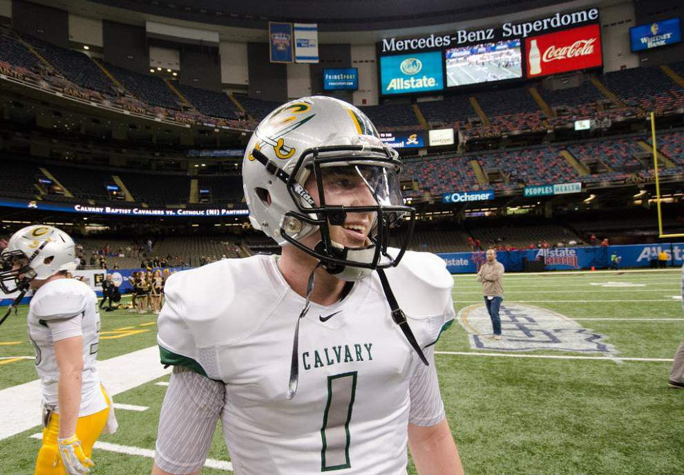 LSU among finalists for Calvary quarterback Shea Patterson; announcement coming today _lowres