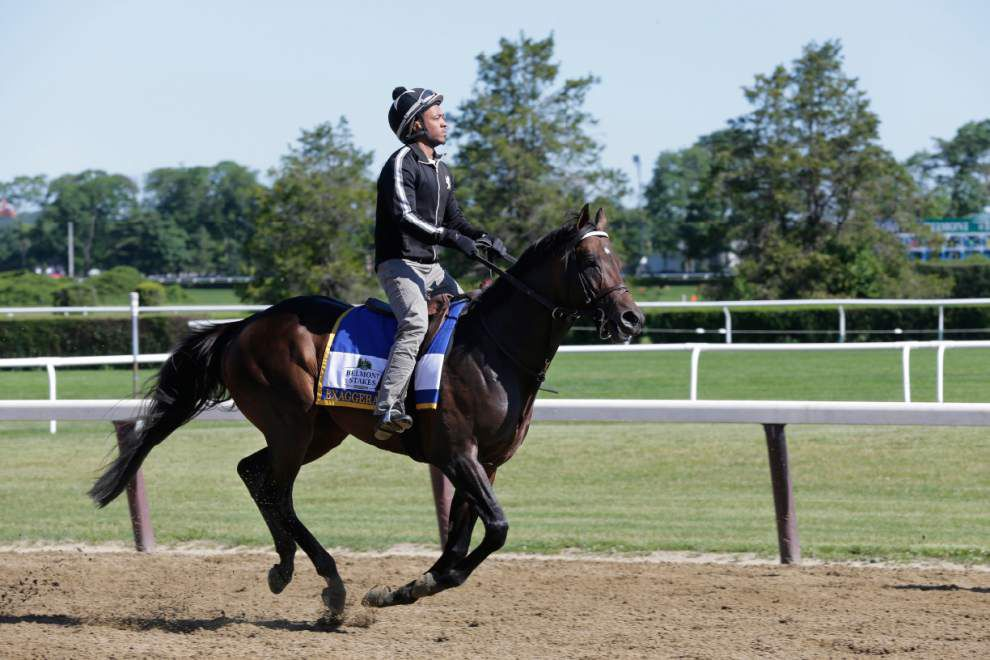 Keith and Kent Desormeaux's Exaggerator seeks a slice of history Saturday at the Belmont Stakes _lowres