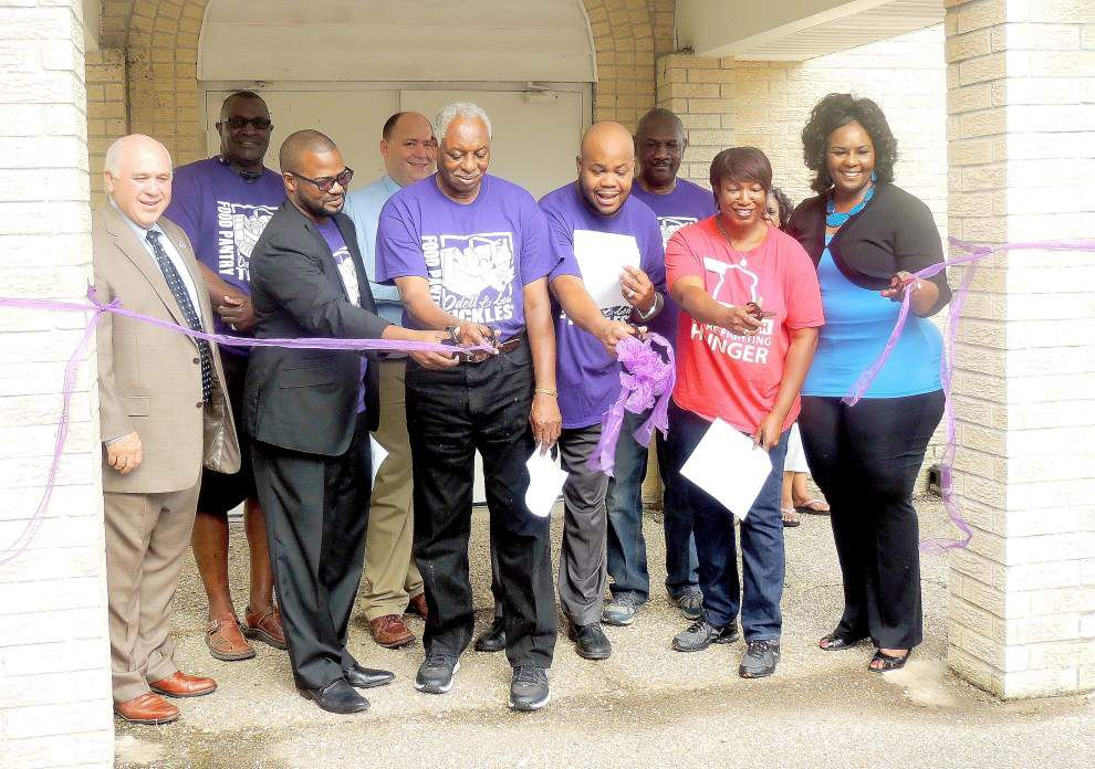 Food pantry renamed after late pastor Tickles _lowres
