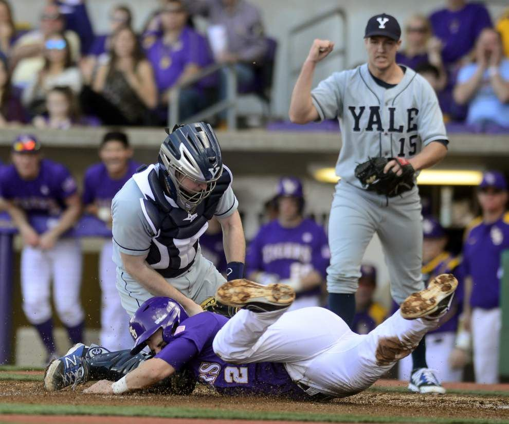 Yale loss hurts LSU baseball team in the polls _lowres