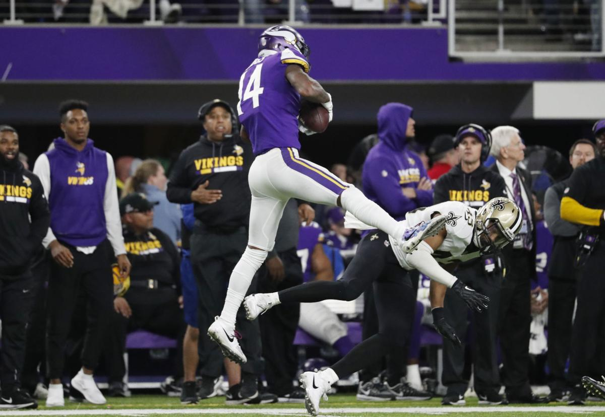 Image result for vikings saints post game interview